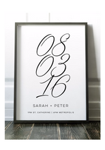 Load image into Gallery viewer, Wedding Poster Print (60x90cm)