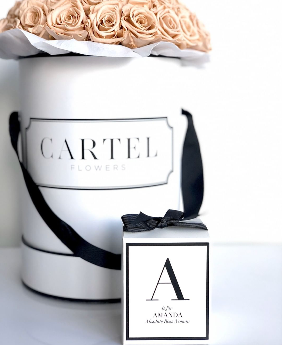 Initial Bridal Party Soy Candle