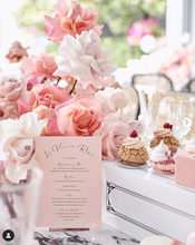Load image into Gallery viewer, Drinks Menu | Bridal Shower | Wedding | Baby Shower