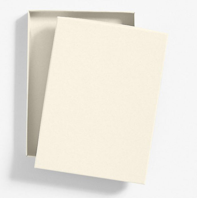 Premium Invitation Box - Luxe White