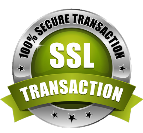 Text, 100% SSL Secure Checkout