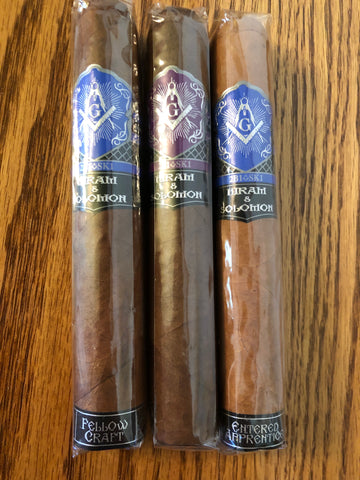Hiram & Solomon Triple Play Sampler - Havana Jim's - Finest Boutique Cigars