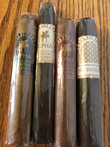 Alpha Cigar Co. 4 Pack Sampler - Havana Jim's - Finest Boutique Cigars