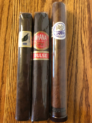 Ohana & Left Hand Collaboration 3pk Sampler - Havana Jim's - Finest Boutique Cigars