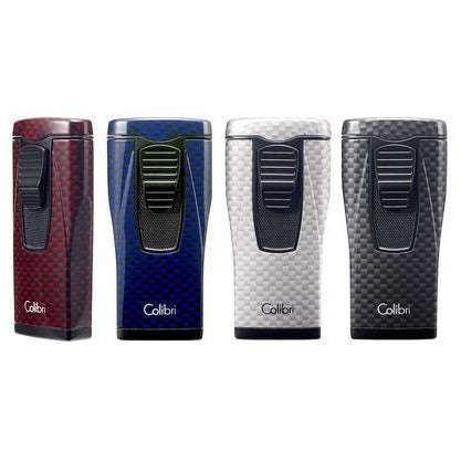 Colibri Monaco Carbon Fiber Lighter - Havana Jim's - Finest Boutique Cigars