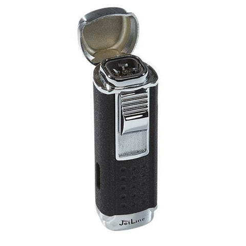 Jetline Magna Quad-Flame Lighter - Havana Jim's - Finest Boutique Cigars