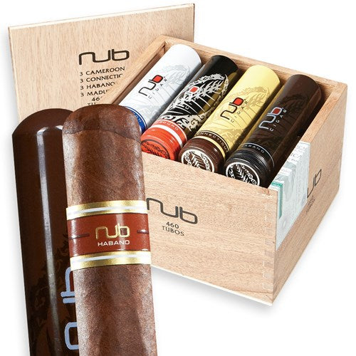 NUB Tubo Sampler Box - Havana Jim's - Finest Boutique Cigars