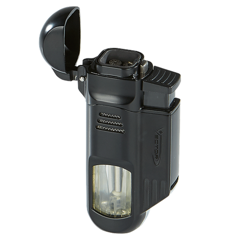 Vector Torpedo Quad Torch Lighter - Havana Jim's - Finest Boutique Cigars