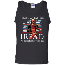 TeeGang Game Of Thrones Deadpool I Read And I Know Things
