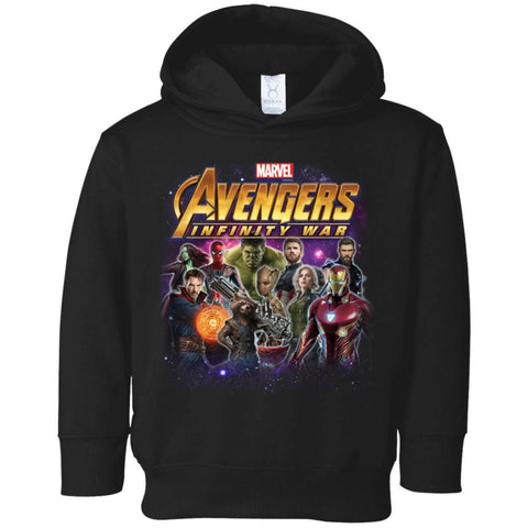 Kid's Marvel Heroes Of The Infinity War Youth T Shirt