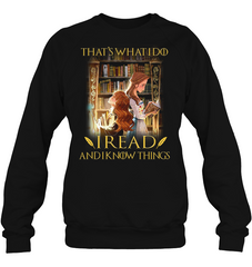 Hermione And Belle I Read And I Know Things Apparel - SOKOOLGADGET
