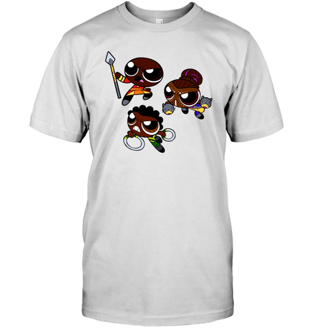 Nakia Shuri And Okoye Shirt  The Powerpuff Girls