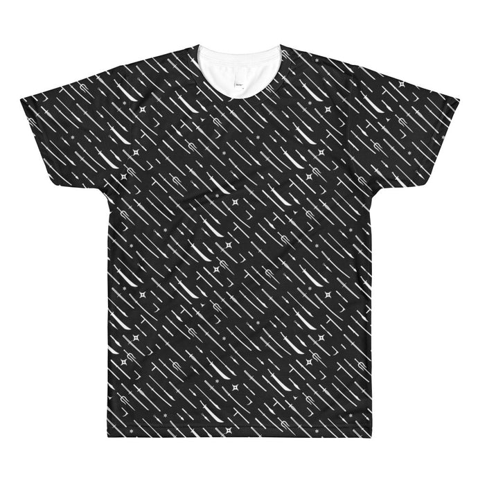Ninja Weapons All-Over Tee