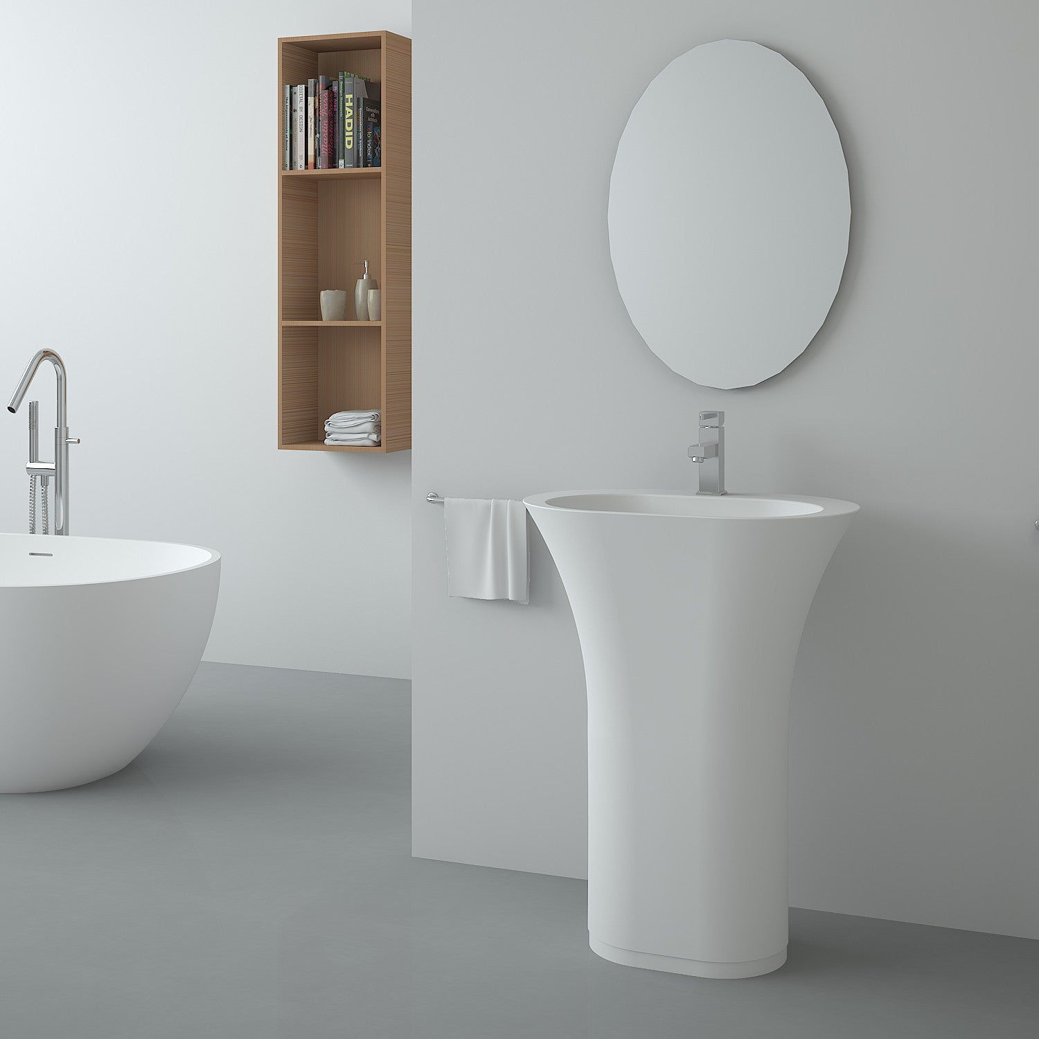 SBS-8502 | Freestanding Basin