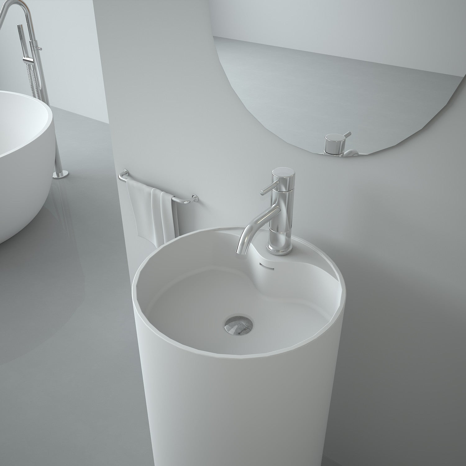 SBS-8505 | Freestanding Basin