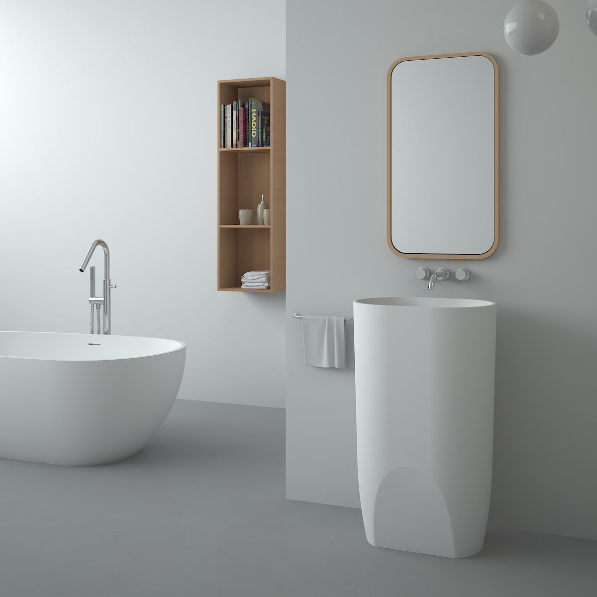 SBS-8506 | Freestanding Basin