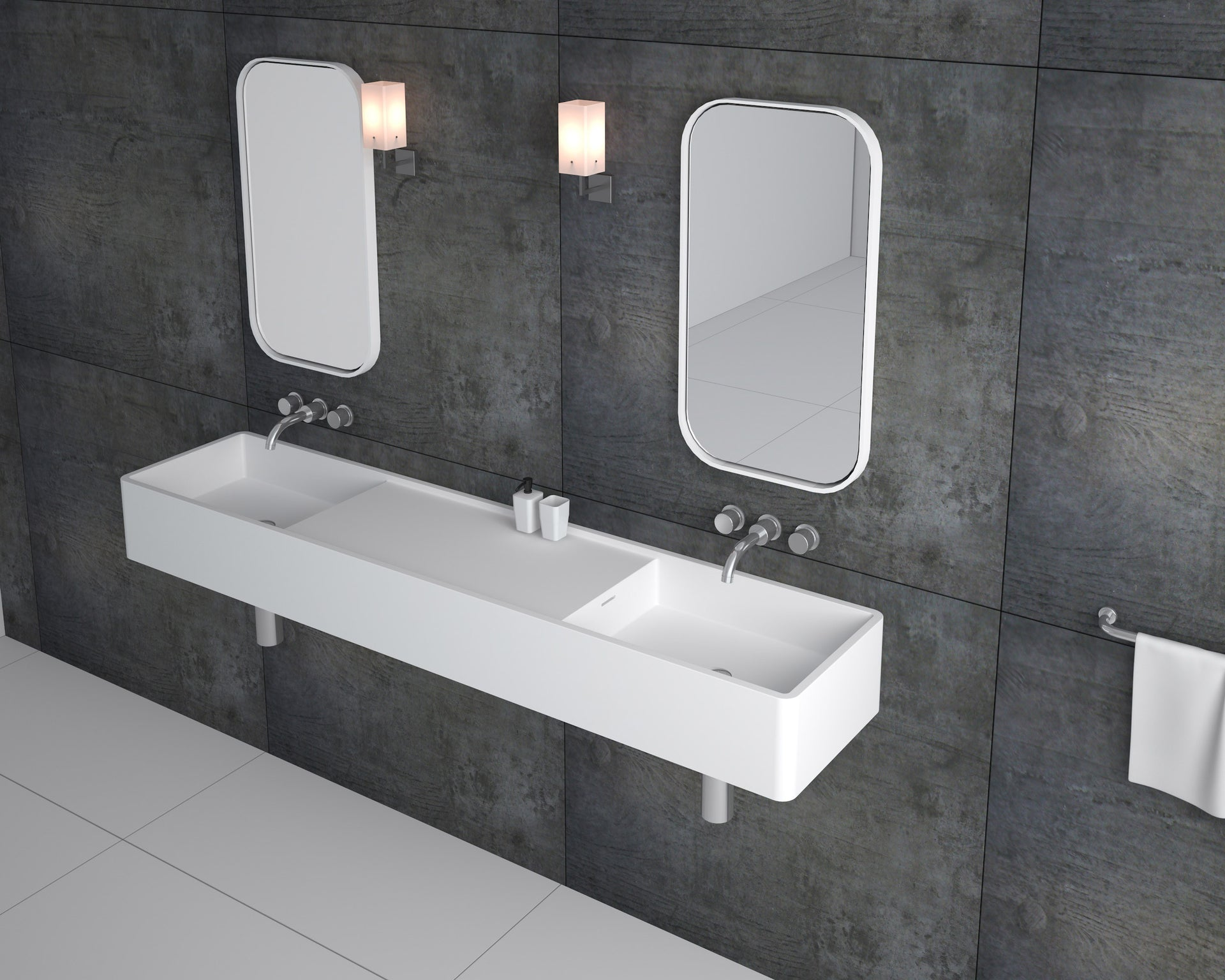 SBS-0006 & SBS-0007 | Wall Hung Basin