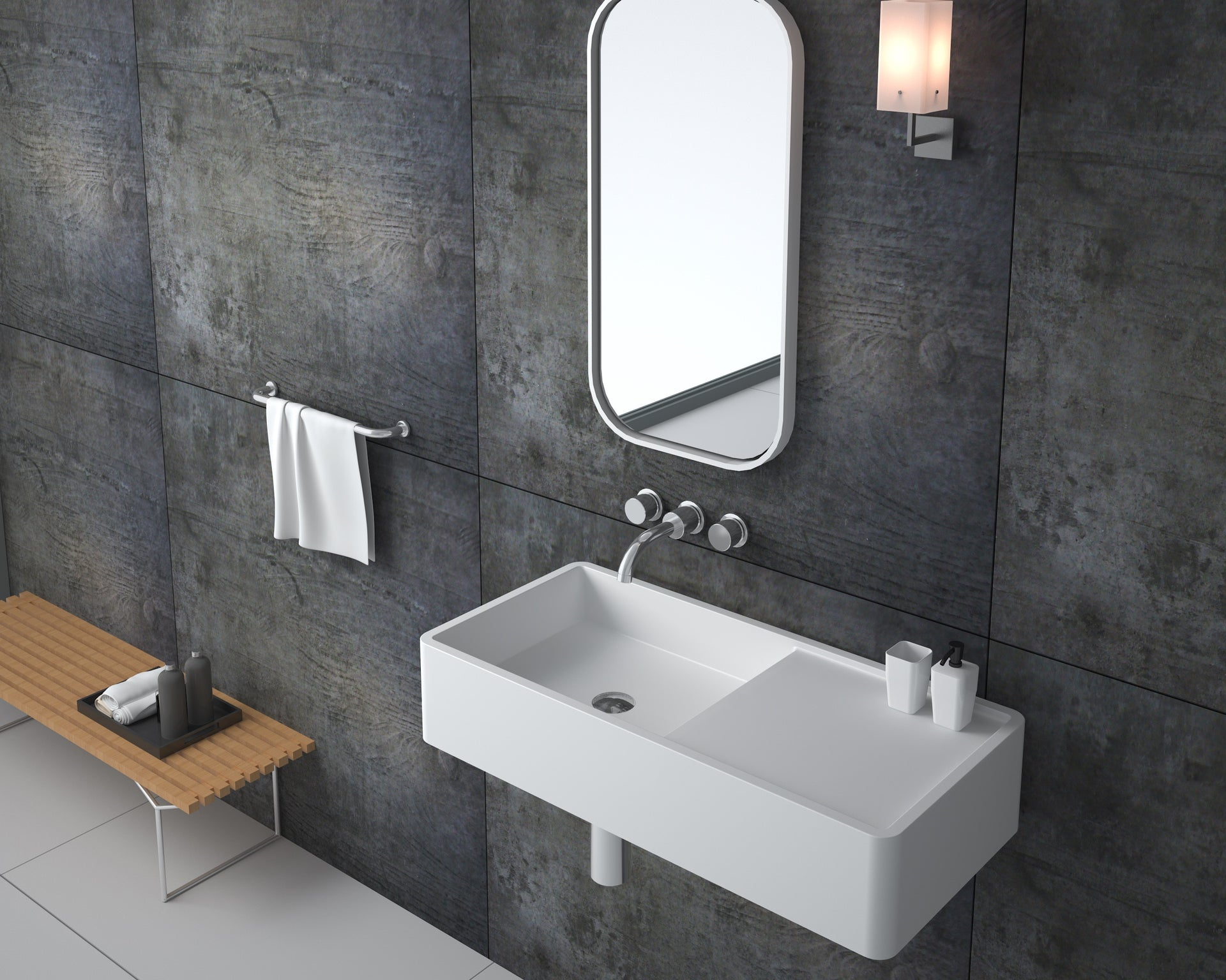 SBS-0004 | Wall Hung Basin