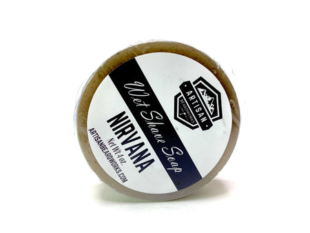 Nirvana Shave Soap Puck