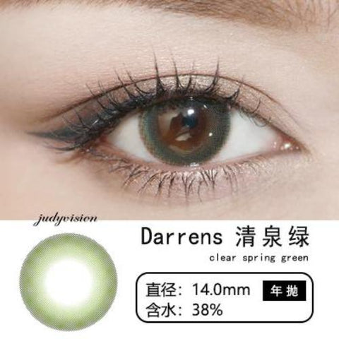 Darrens Clear Spring Green