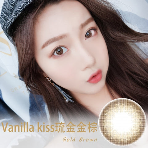 Vanilla Kiss Gold Brown