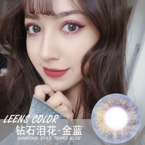 Leens Color Diamond Tears Blue