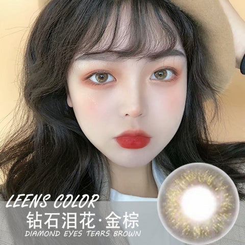 Leens Color Diamond Tears Brown