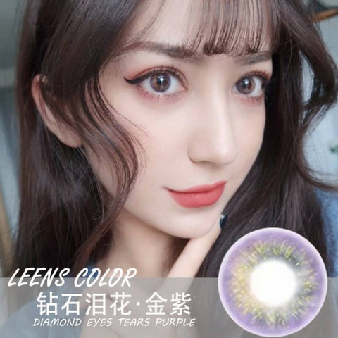 Leens Color Diamond Tears Purple