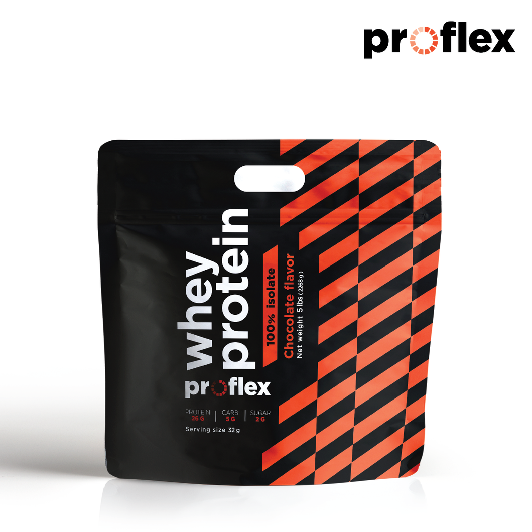 New Proflex Isolate Chocolate 5 lbs (2.3 kg)