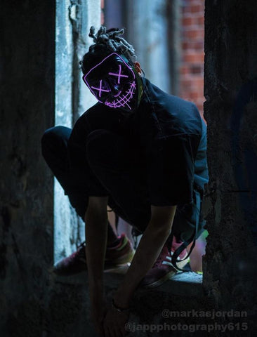 Light-Up Purge Mask