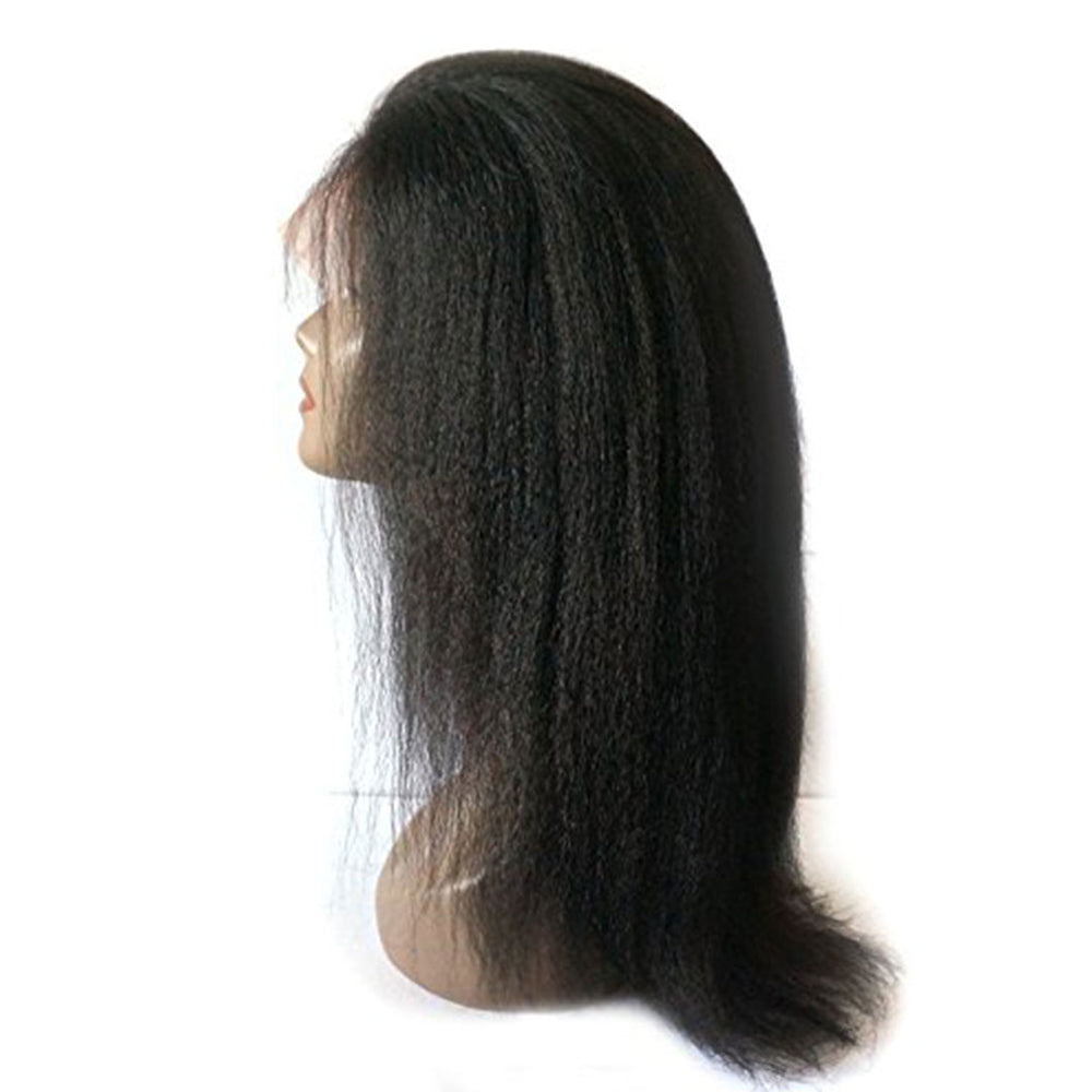 Rechoo 360 Lace Frontal Kinky Straight Human Wig Pre Plucked With Baby Hair
