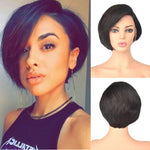 【NEW IN】Pixie Cut Short Bob Brazilian Virgin Hair Lace Front Wigs
