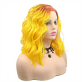 Rechoo Ombre Bob Body Wavy Synthetic Lace Front Wigs