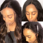 *NEW IN* Undetectable Transparent Lace Brazilian Virgin Hair Full Lace Wig