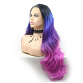 Rechoo Ombre Loose Wave Synthetic Lace Front Wig