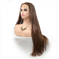 Rechoo Light Brown Braiding Synthetic Lace Front Wig