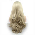 Rechoo Blonde Loose Wave Synthetic Lace Front Wig