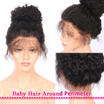 *NEW IN* Rechoo 13*4 Lace Frontal Water Wave bob Human Wig Pre Plucked With Baby Hair