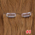 Rechoo Straight Clip In Hair Extensions #27/613 100g 7PCS