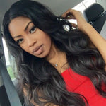 Rechoo Body Wavy Lace Front Synthetic Wig