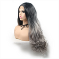 Rechoo Ombre Body Wavy Synthetic Lace Front Wigs