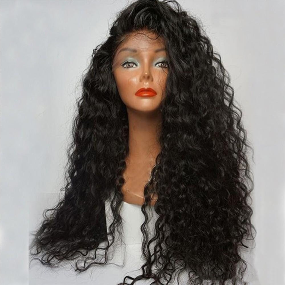 Rechoo Mila Curly Synthetic Lace Front Wig