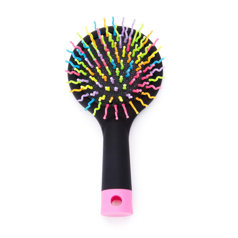 Professional Straightening Detangling Hair Comb Brush with Mirror
