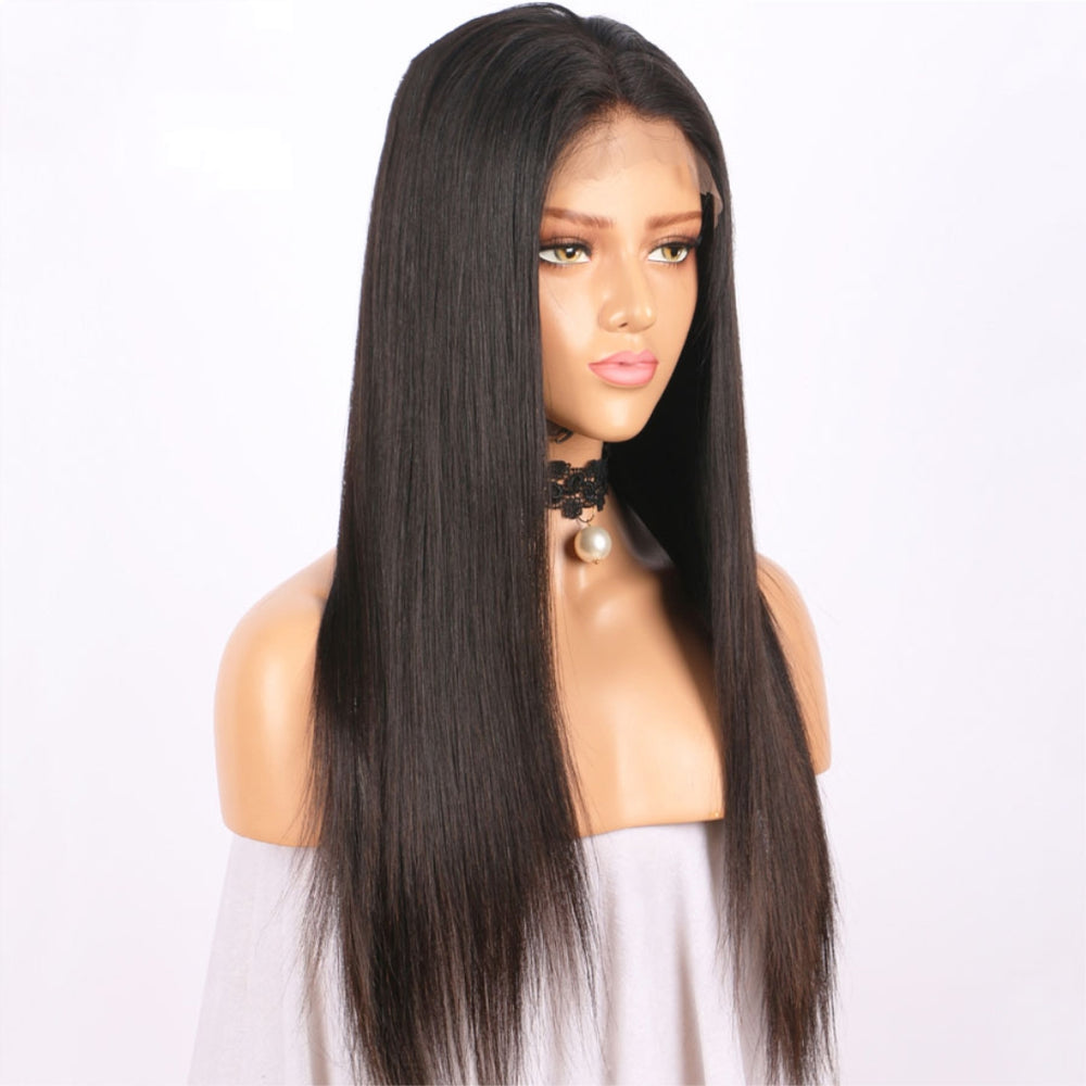Rechoo 360 Lace Frontal Silky Straight Human Hair Wig