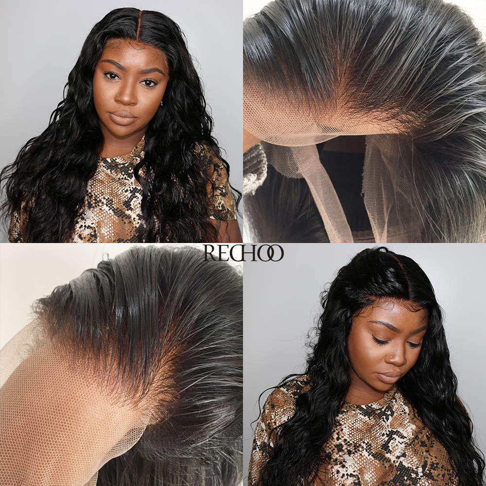 *New In* Undetectable Transparent Lace Brazilian Virgin Hair Front Lace Wig