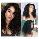 *NEW IN* Rechoo Pre-Plucked Brazilian Virgin Hair Curly Lace Front Wigs