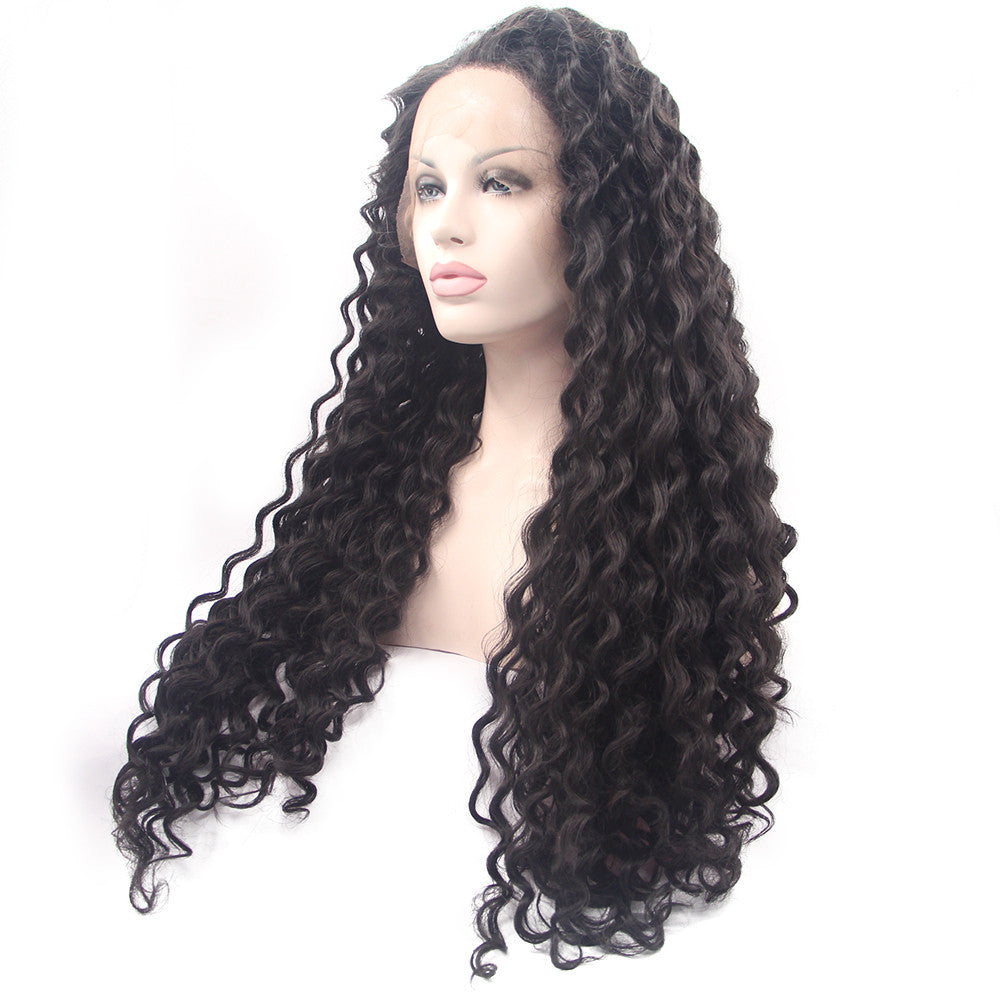 Rechoo Black Pearl Synthetic Wigs