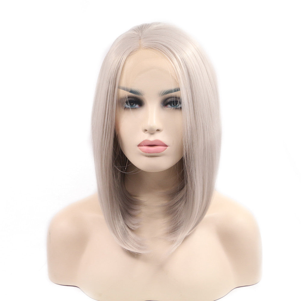 Rechoo Ash Synthetic Wigs
