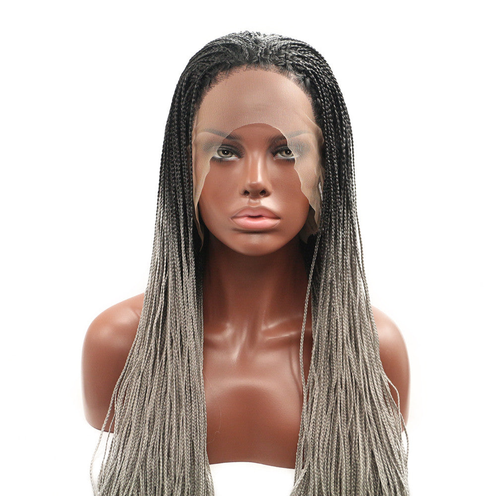 Rechoo Box Braids Synthetic Wigs