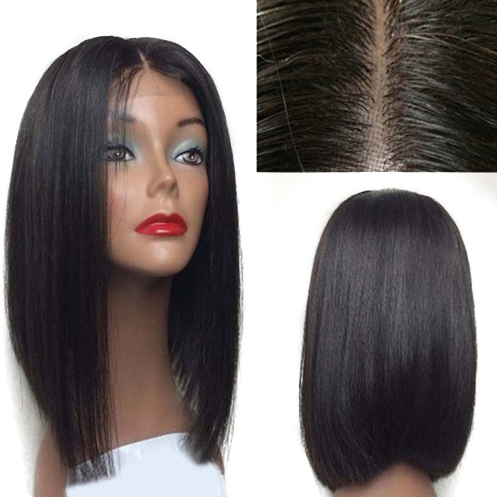 Rechoo Cecilia Short Bob Synthetic Lace Front Wig